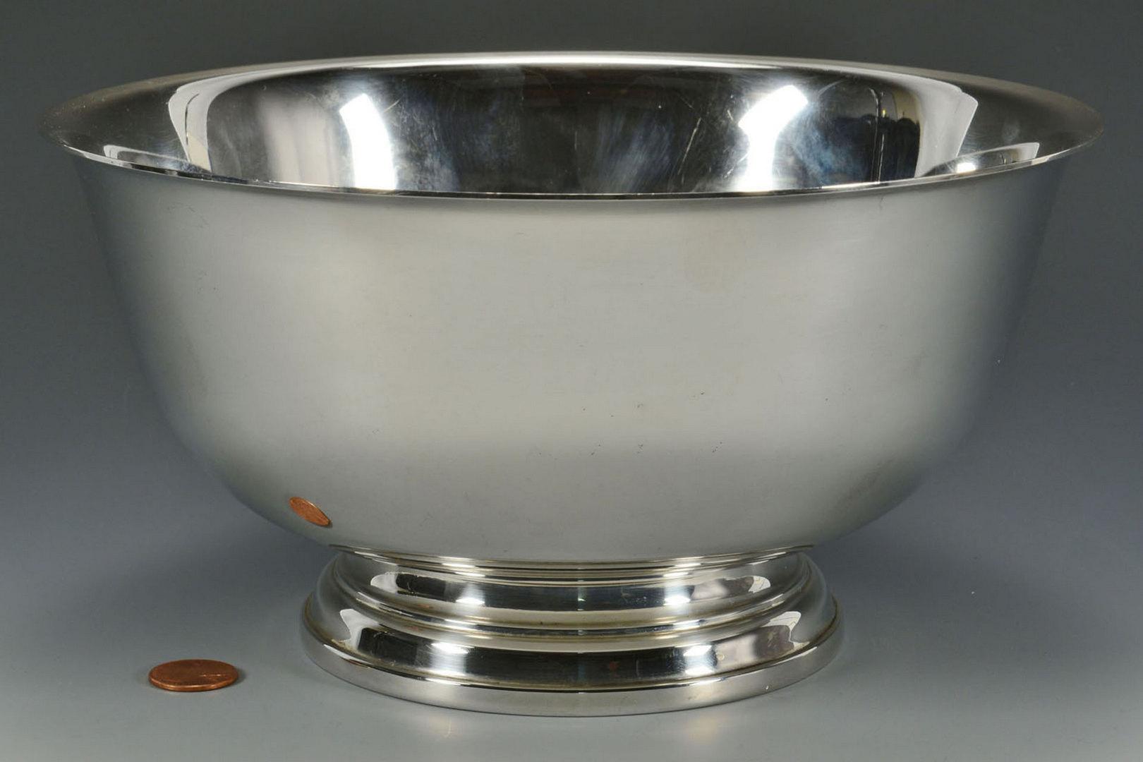 """Lot 309: International Sterling Revere Bowl, 9"""""""