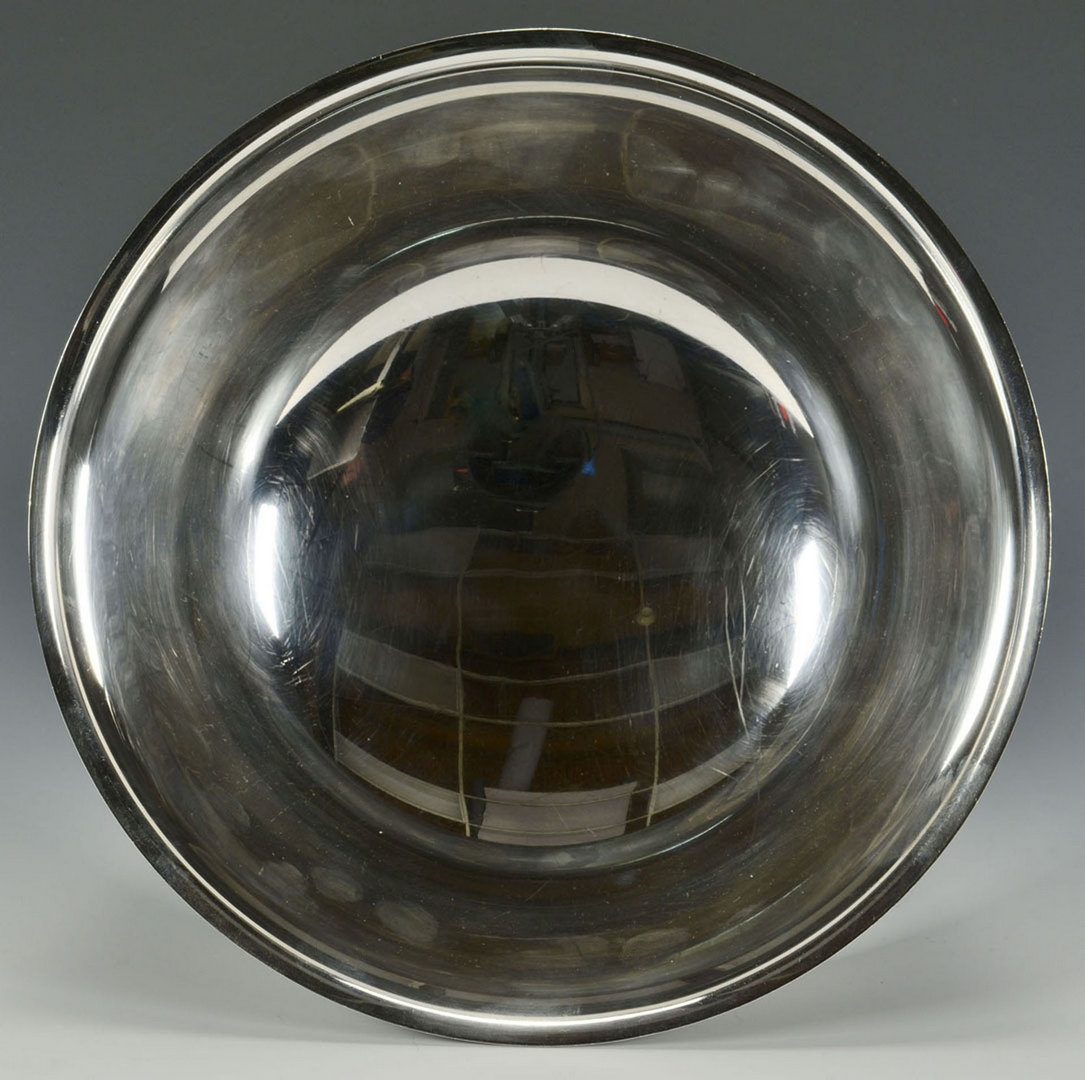 Lot 309: International Sterling Revere Bowl, 9""