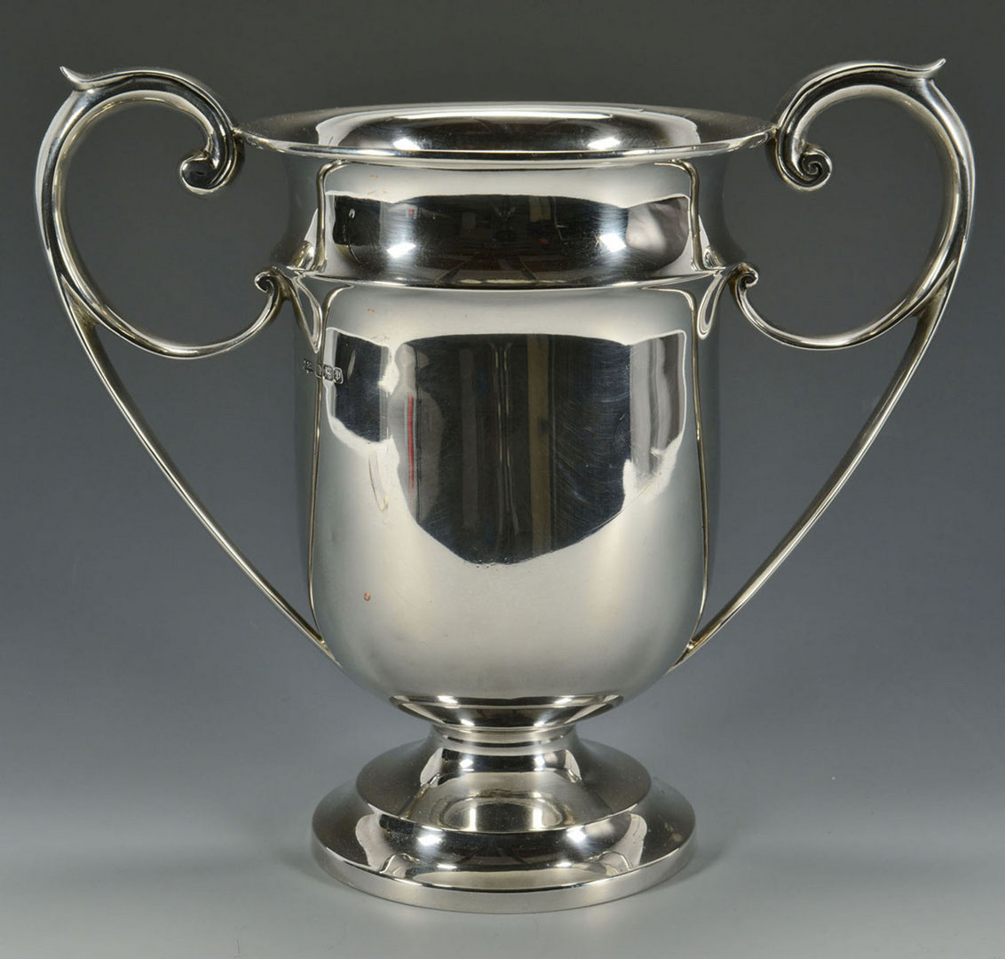 Lot 310: Sterling Silver Presentation Cup
