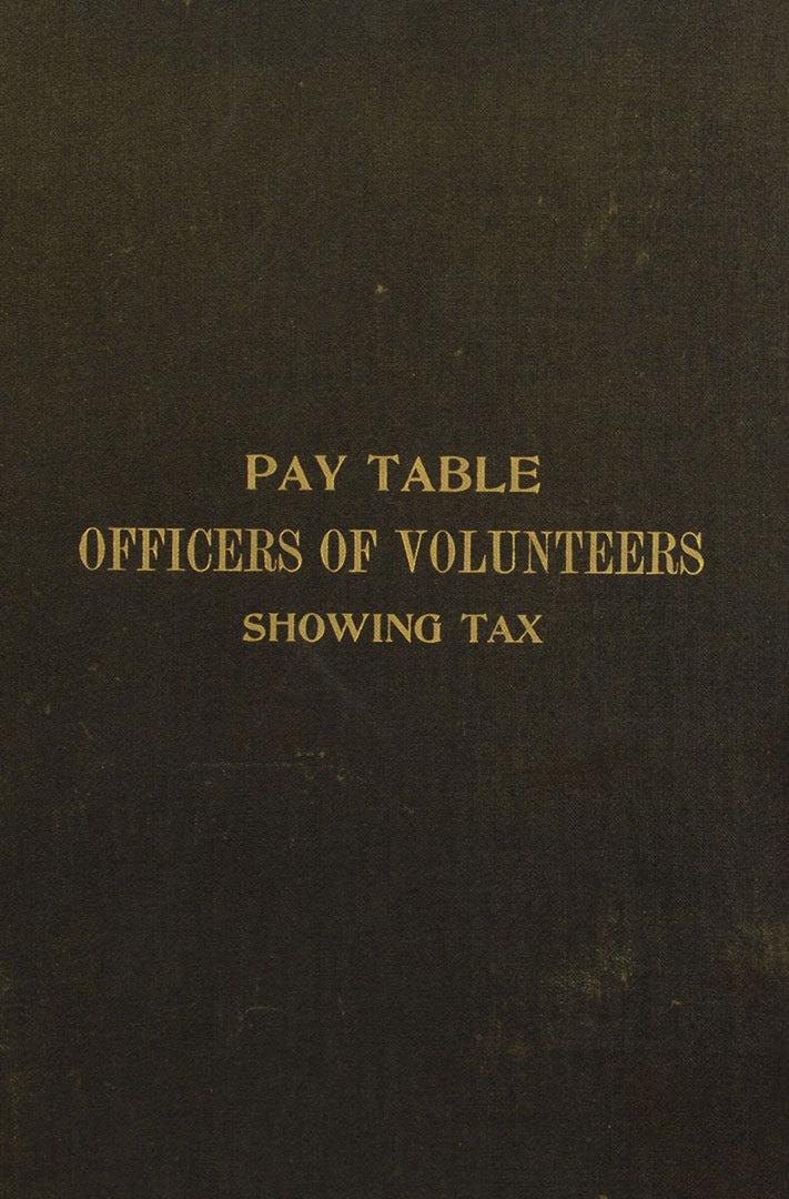 Lot 317: Civil War Era Brady Photograph & Pay Table