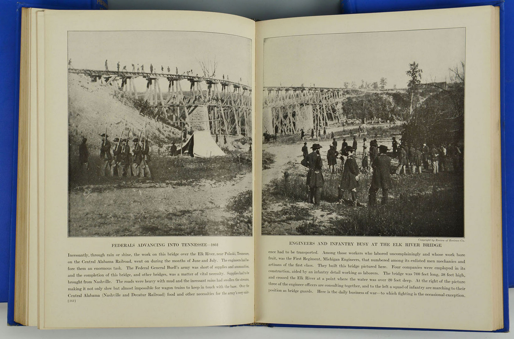 Lot 320: Photographic History of Civil War, 10 Vols, Mille