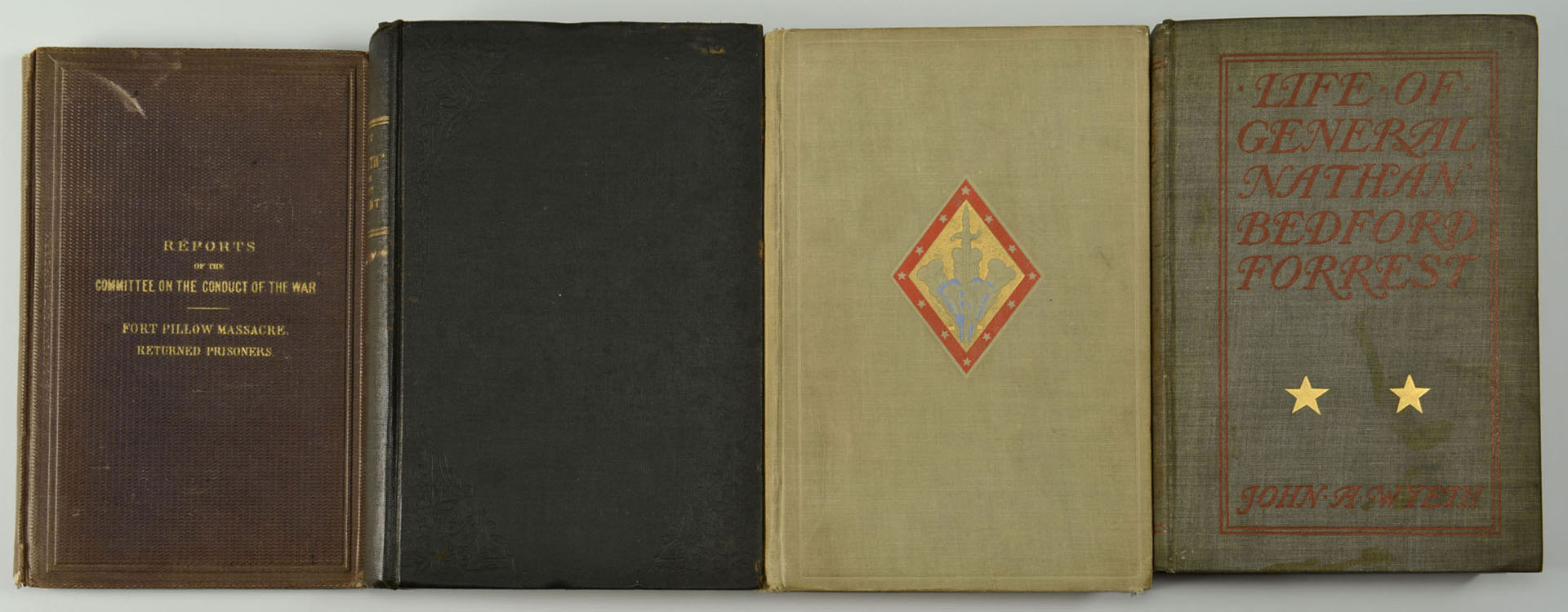 Lot 321: Grouping of 4 Civil War Related Books
