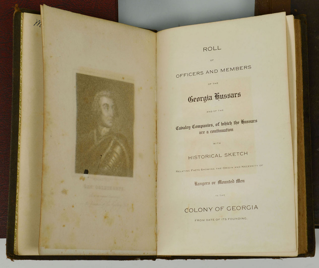 Lot 328: Grouping of 6 Historical Southern Books, GA & NC
