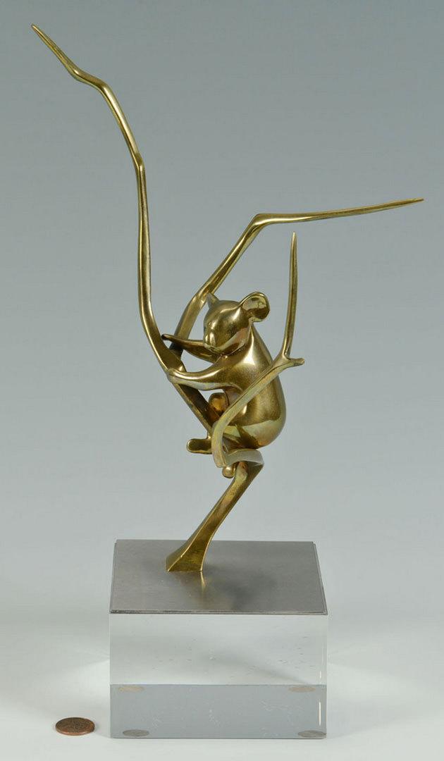 Lot 336: Loet Vanderveen, Bronze sculpture of a Koala