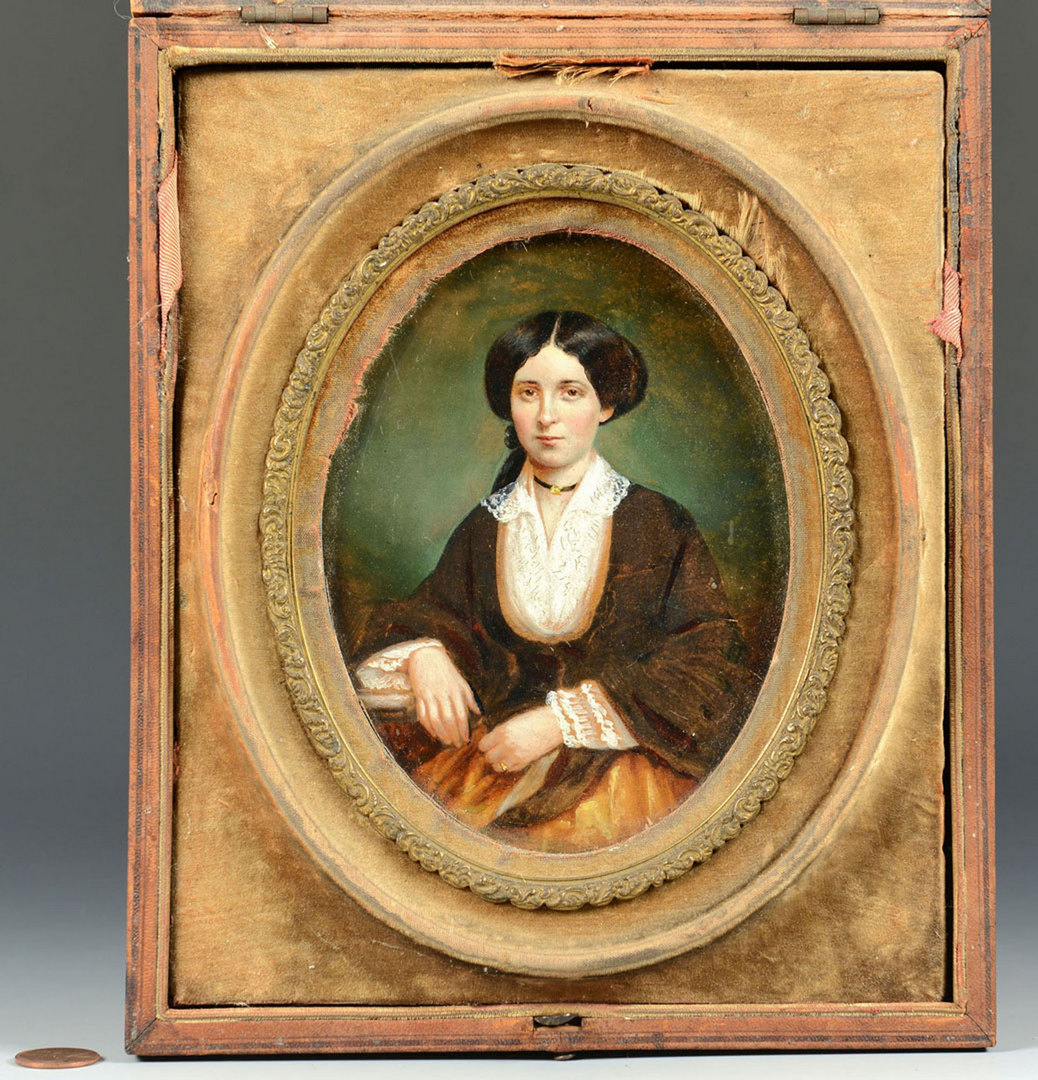 Lot 33: Portrait of Fannie Hatch Wemyss