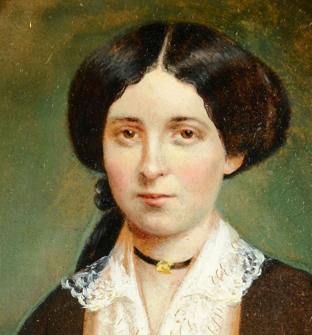 Lot 33: Portrait of Fannie Hatch Wemyss