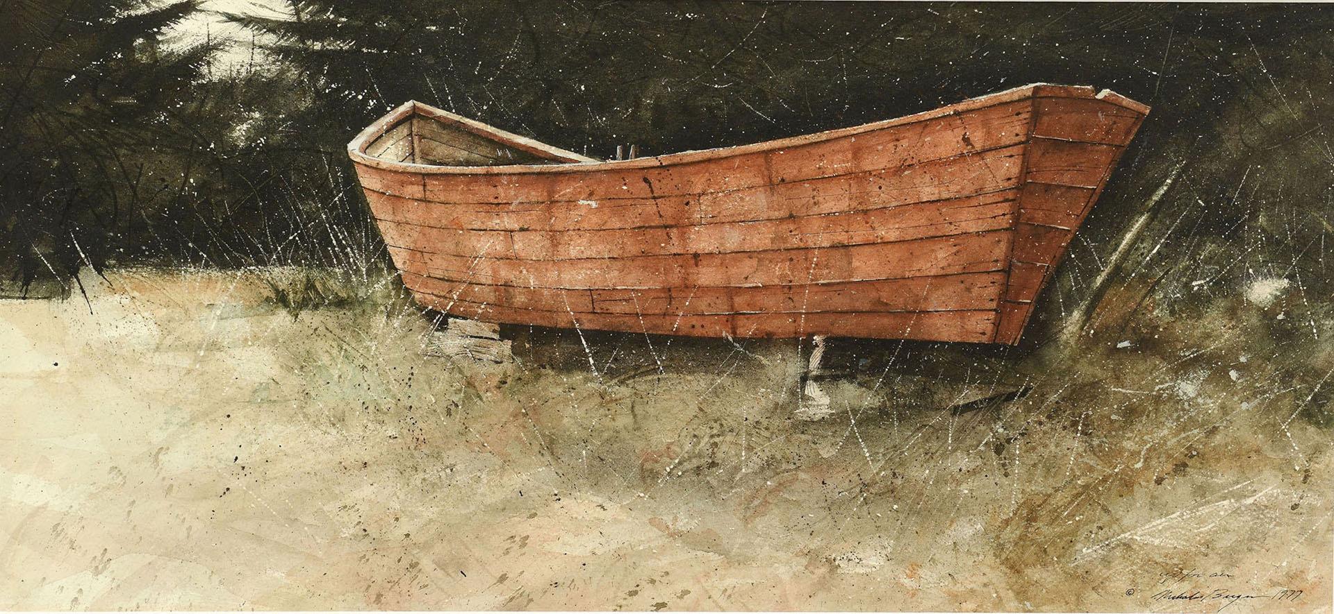Lot 343: Nicholas Berger Watercolor