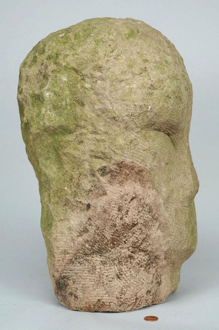 Lot 352: 2 Carved Sculptures attr. Jack Kershaw