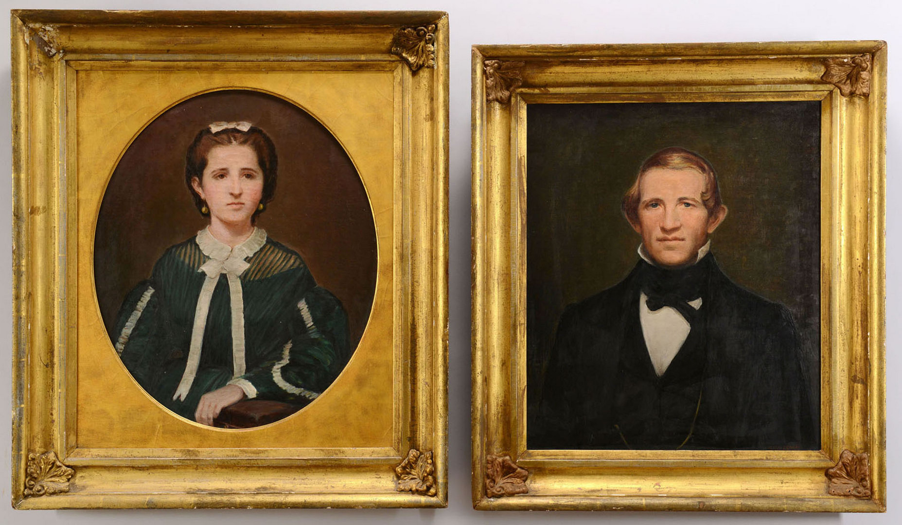 Lot 353: Pair of Portraits, Wemyss Family
