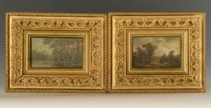 Lot 355: Pr. 19th Century European Landscapes
