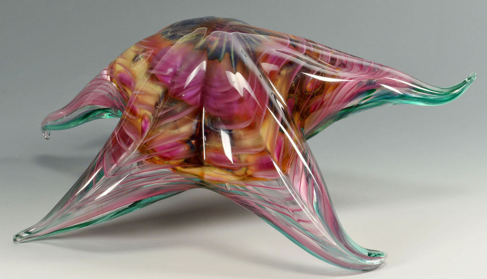 Lot 369: Catherine Rahn Starfish Glass Sculpture