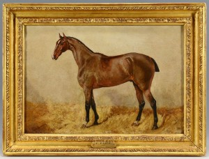 Lot 36: George Paice, Portrait of a Horse
