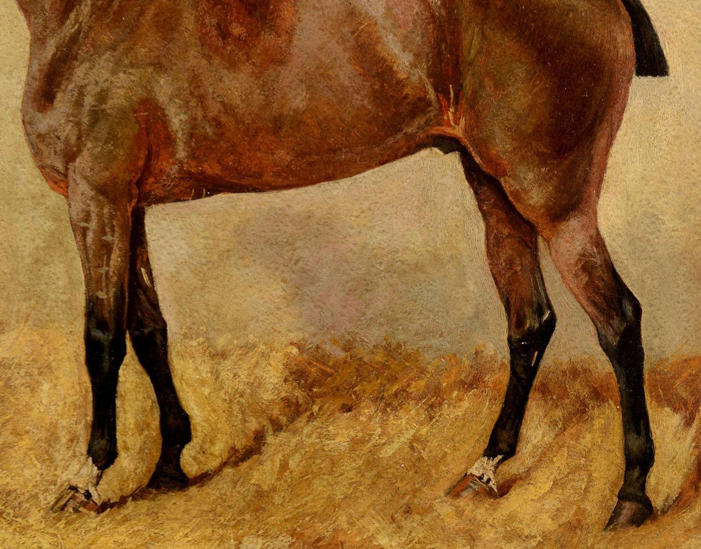 Lot 36: George Paice, Portrait of a Horse
