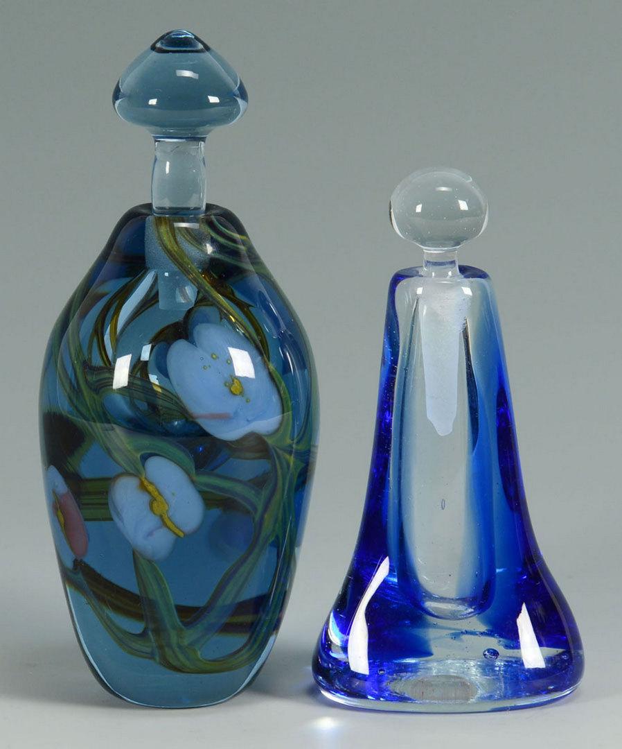 Lot 372: 2 Richard Jolley Perfume Bottles