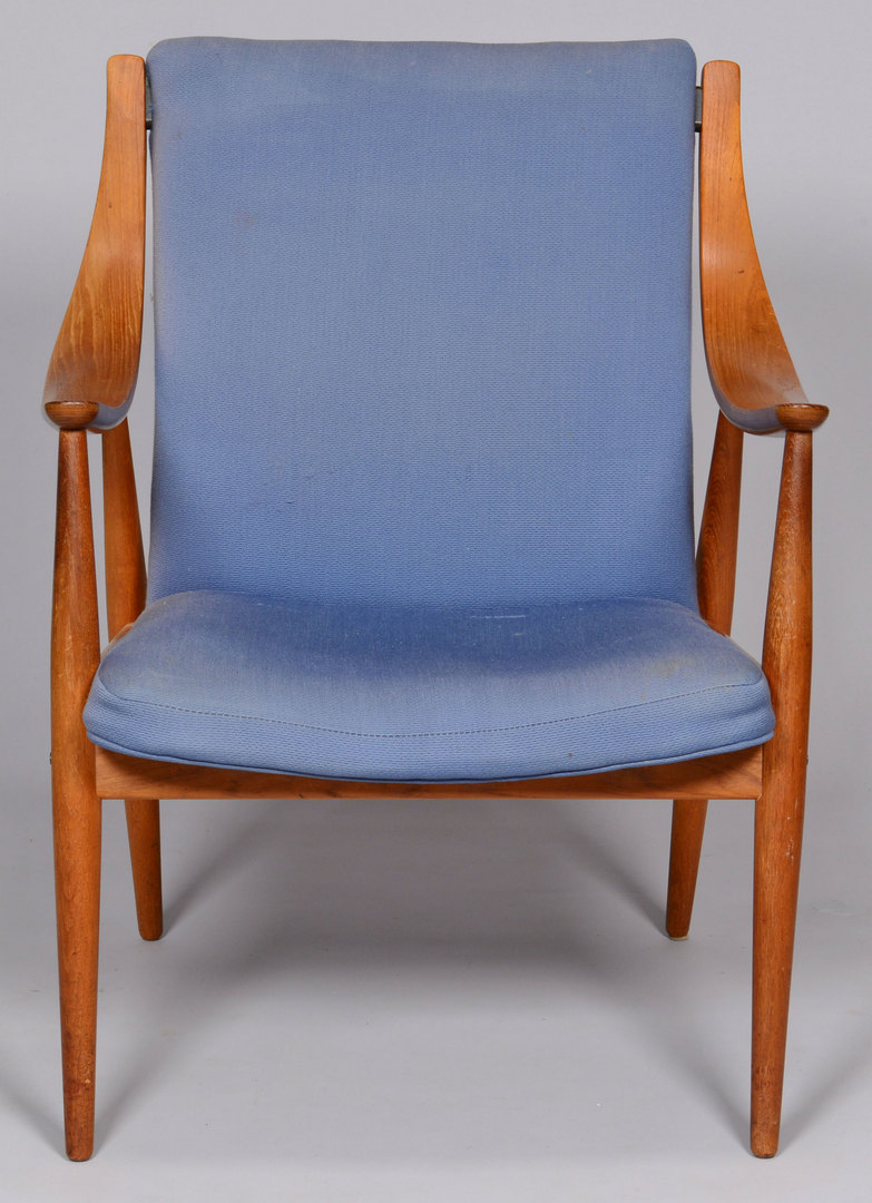 Lot 378: Midcentury Danish Modern ÔMamaÕ Easy Chair