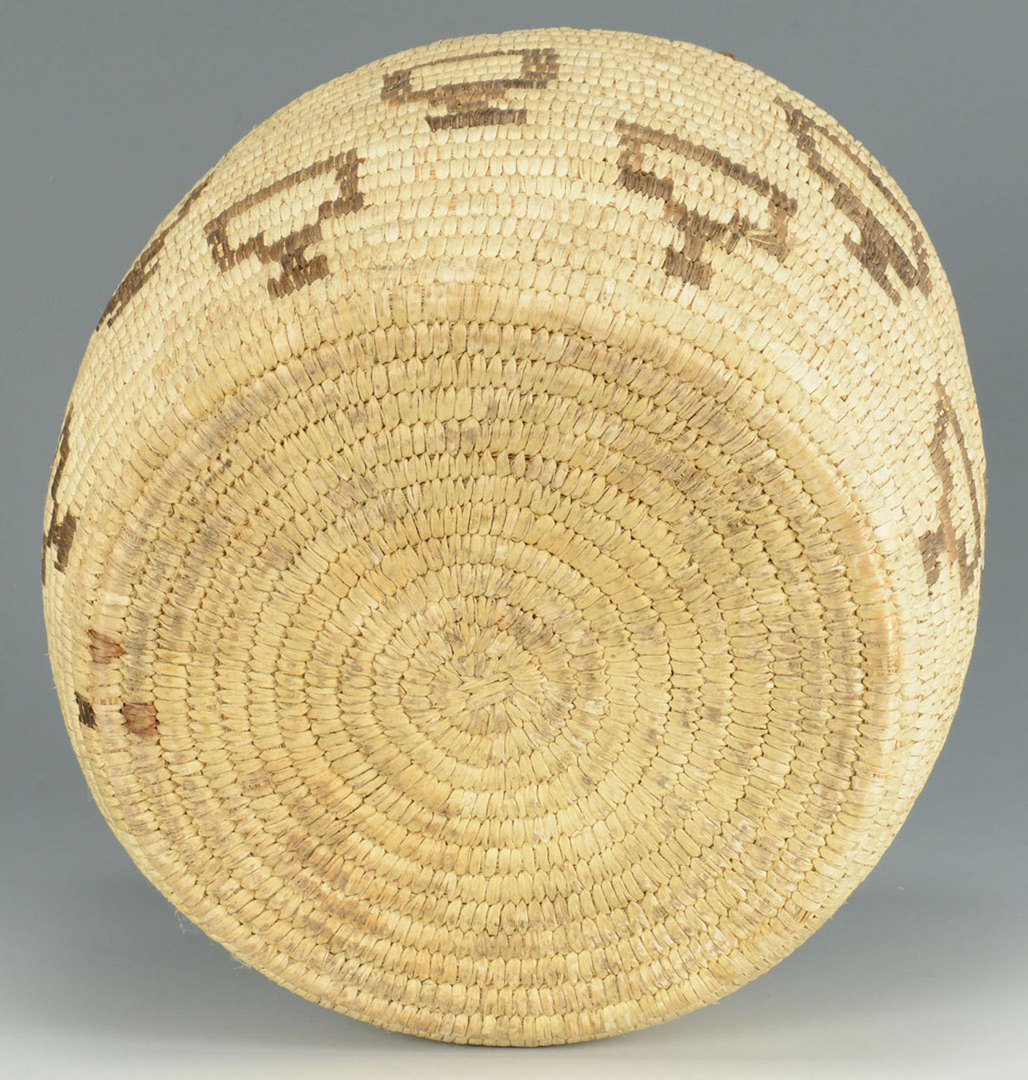 Lot 394: Native American Papago Basket