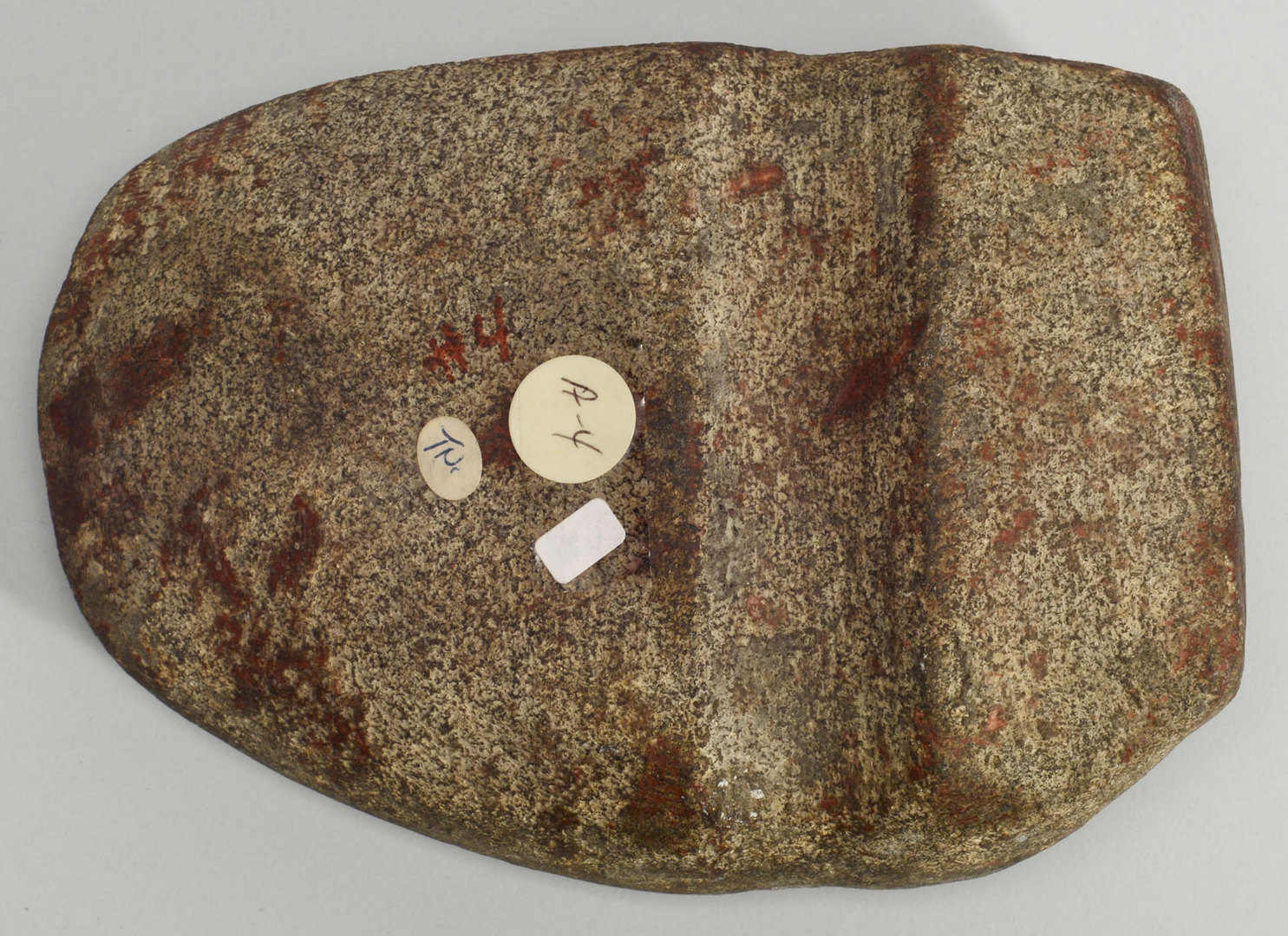 Lot 403: Three Quarter 3/4 Grooved Granite Axe, Tennessee