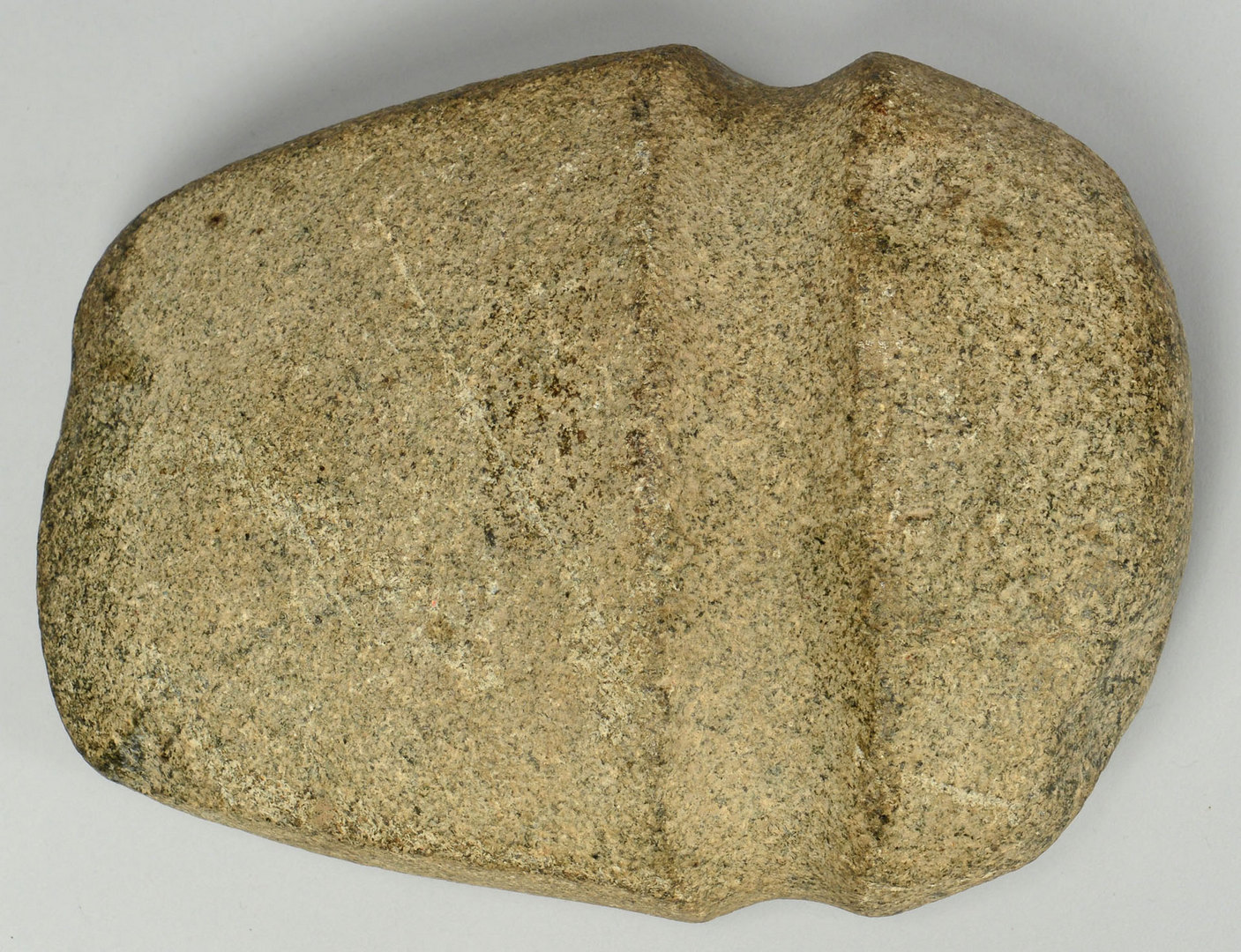 Lot 404: Three Quarter 3/4 Grooved Granite Axe