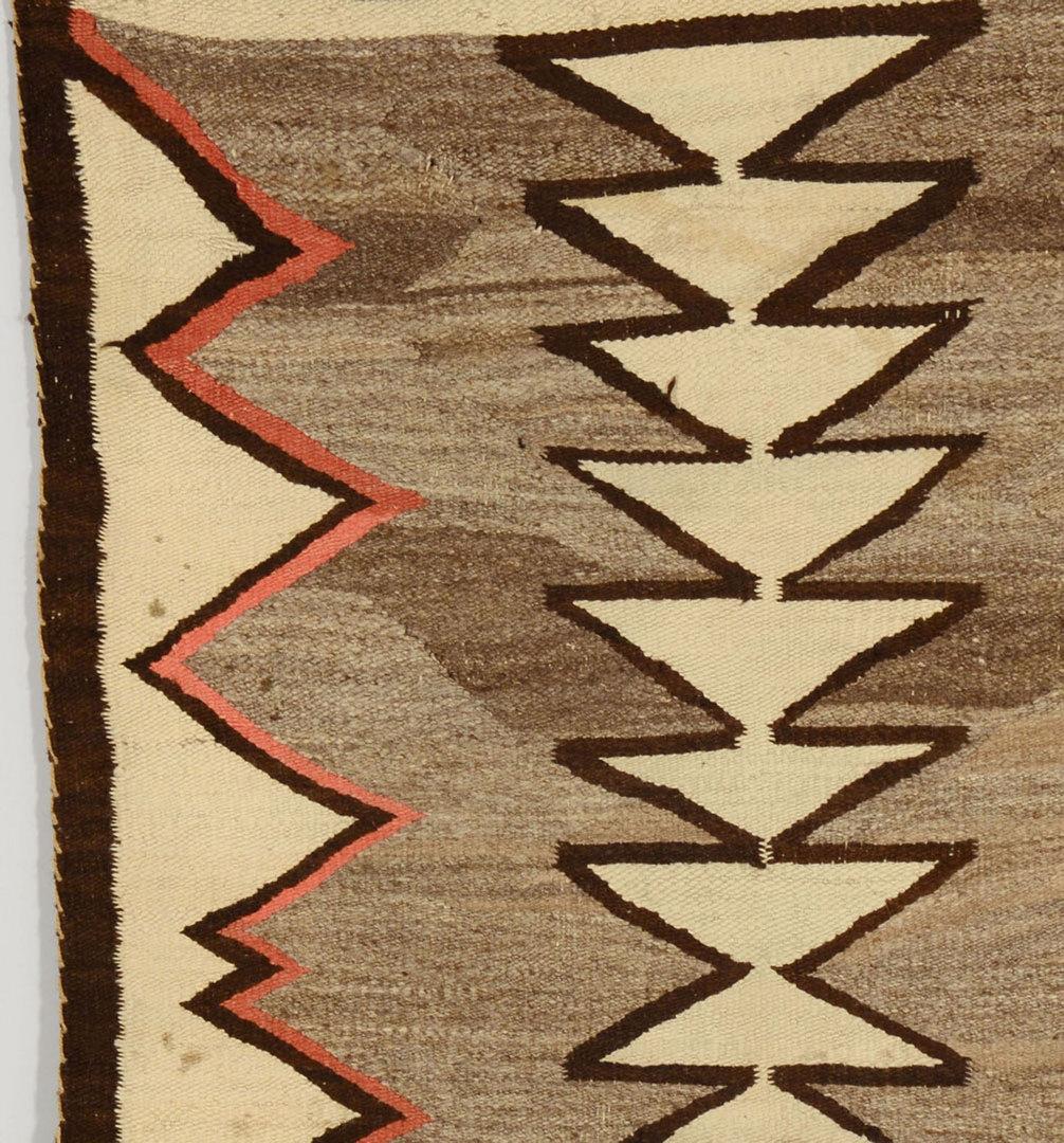 Lot 407: 2 Navajo Weavings