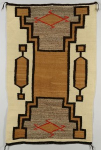 Lot 408: Native American Southwest rug