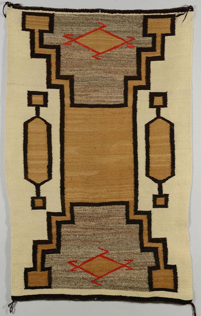 Lot 408: Native American Southwest rug