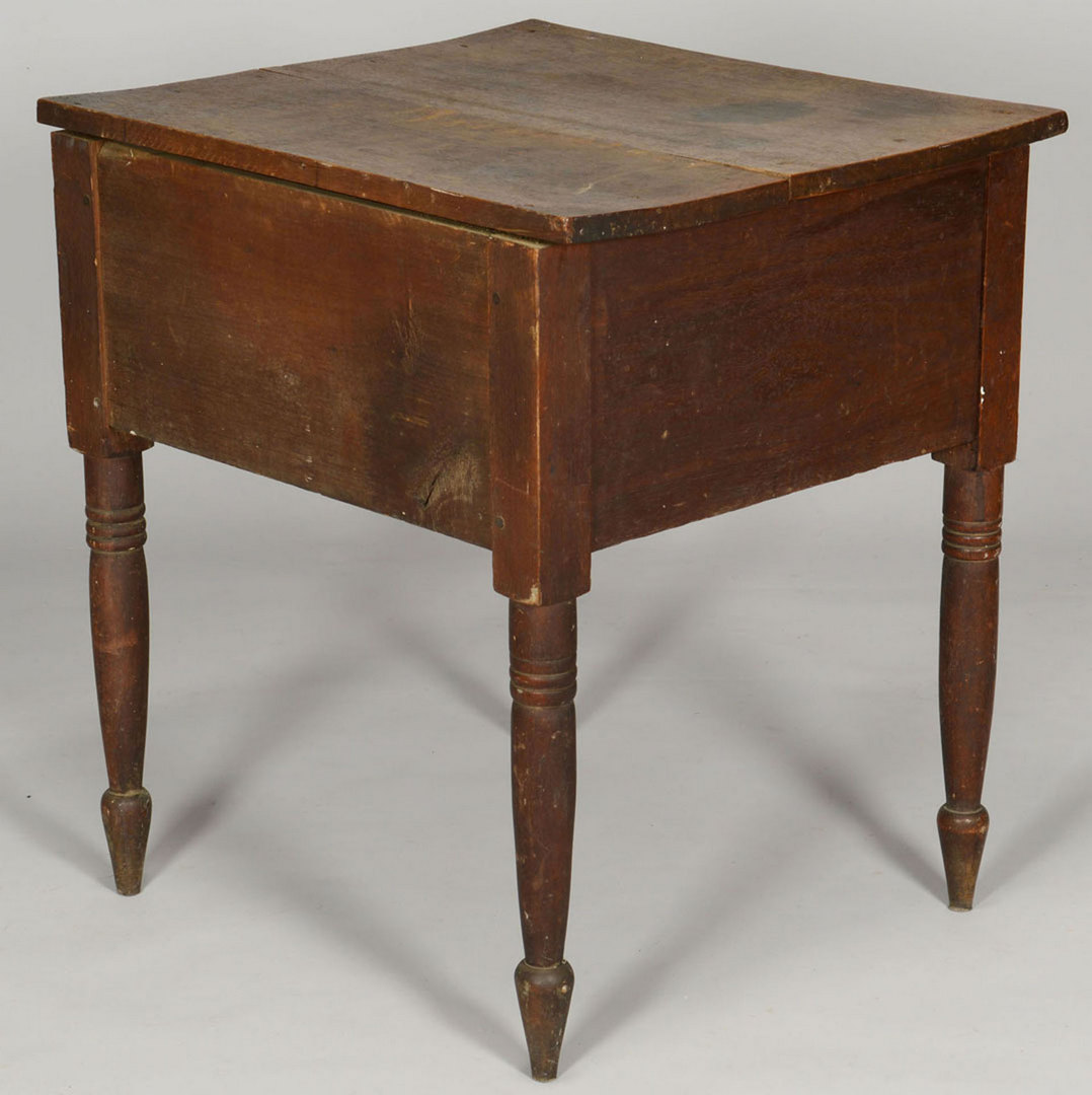 Lot 417: East TN 2 Drawer Sheraton Work Table