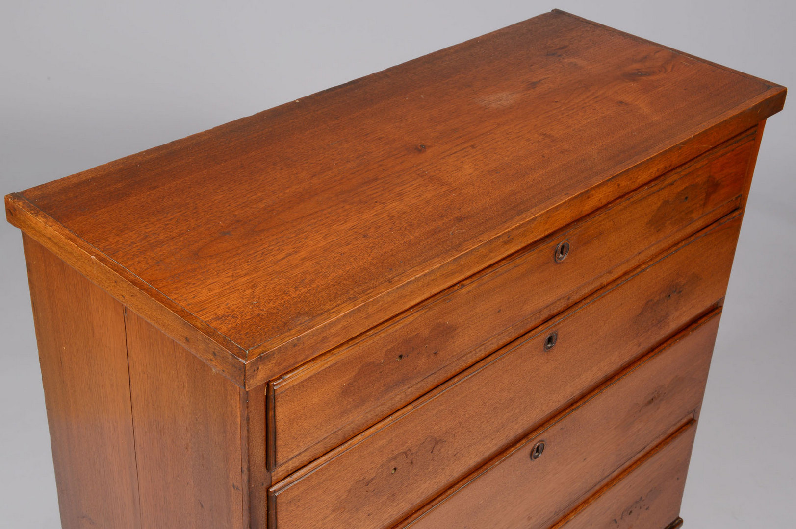 Lot 418: East Tennessee Federal Walnut Chest, Tazwell
