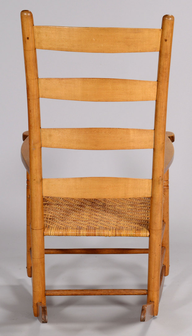 Lot 419: Tennessee Rocking Chair attr. Dick Poyner