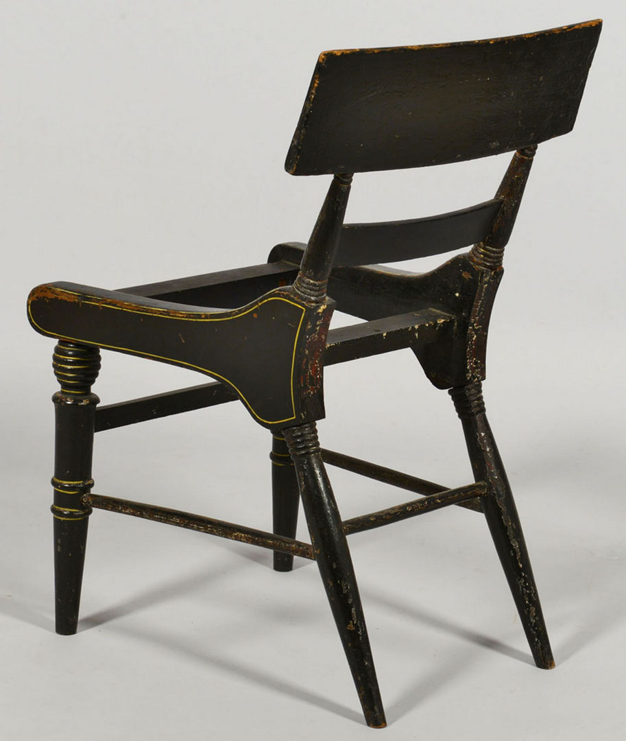Lot 420: 3 Classical Fancy Side Chairs, poss. Baltimore