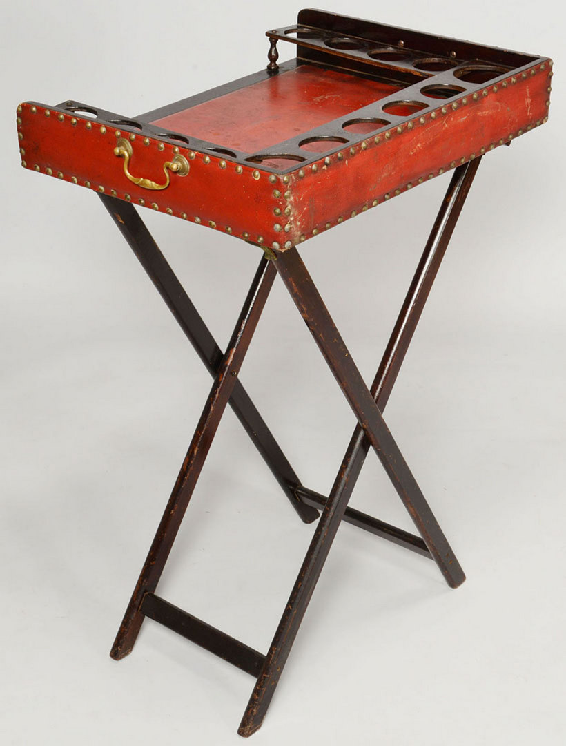 Lot 430: Butler's Tray on Stand