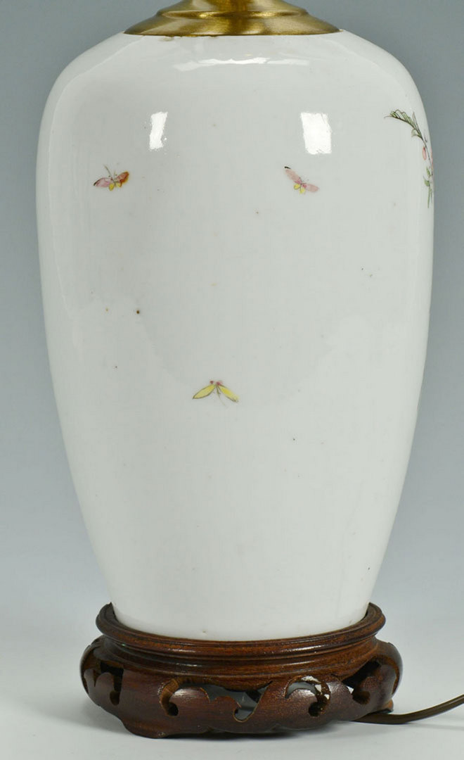 Lot 439: Chinese Export Famille Rose Vase