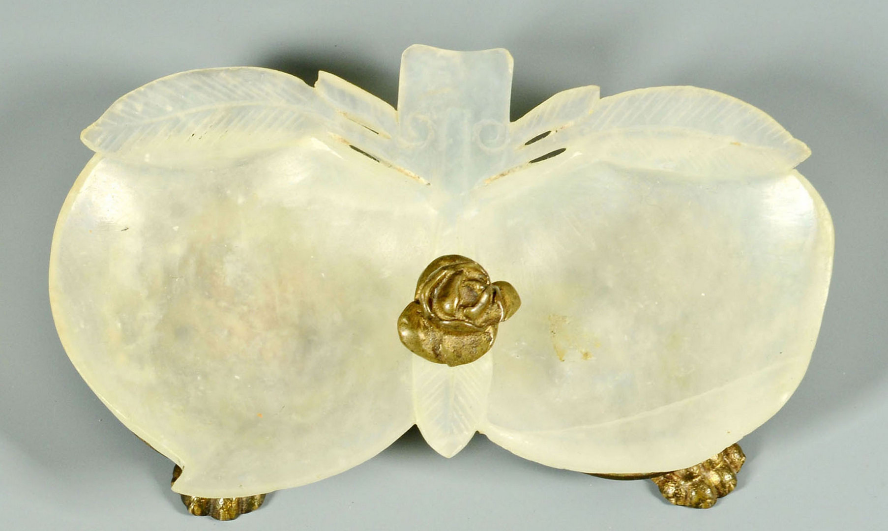Lot 441: Two Jade Double Brush Washers