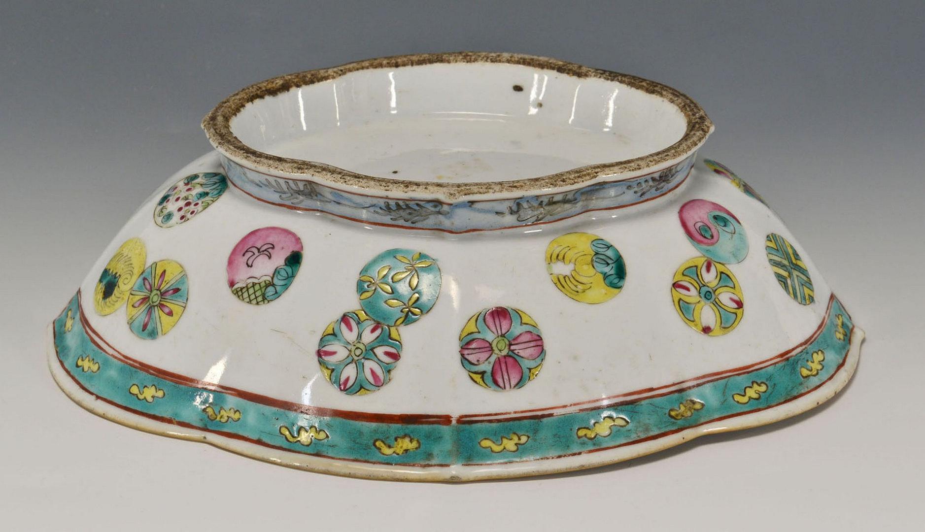 Lot 449: 4 pcs Chinese Porcelain