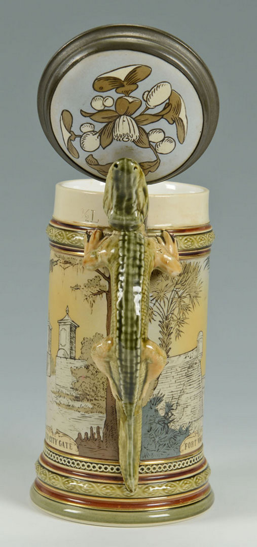 Lot 464: Mettlach Stein #2373 – Spanish Coat of Arms
