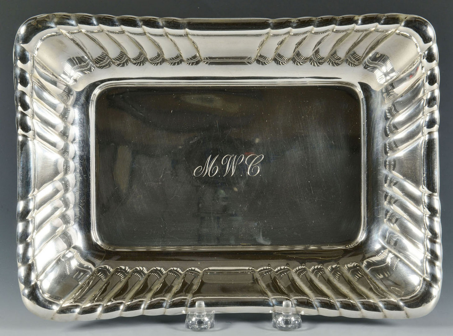 Lot 473: Reed and Barton sterling vegetable bowl