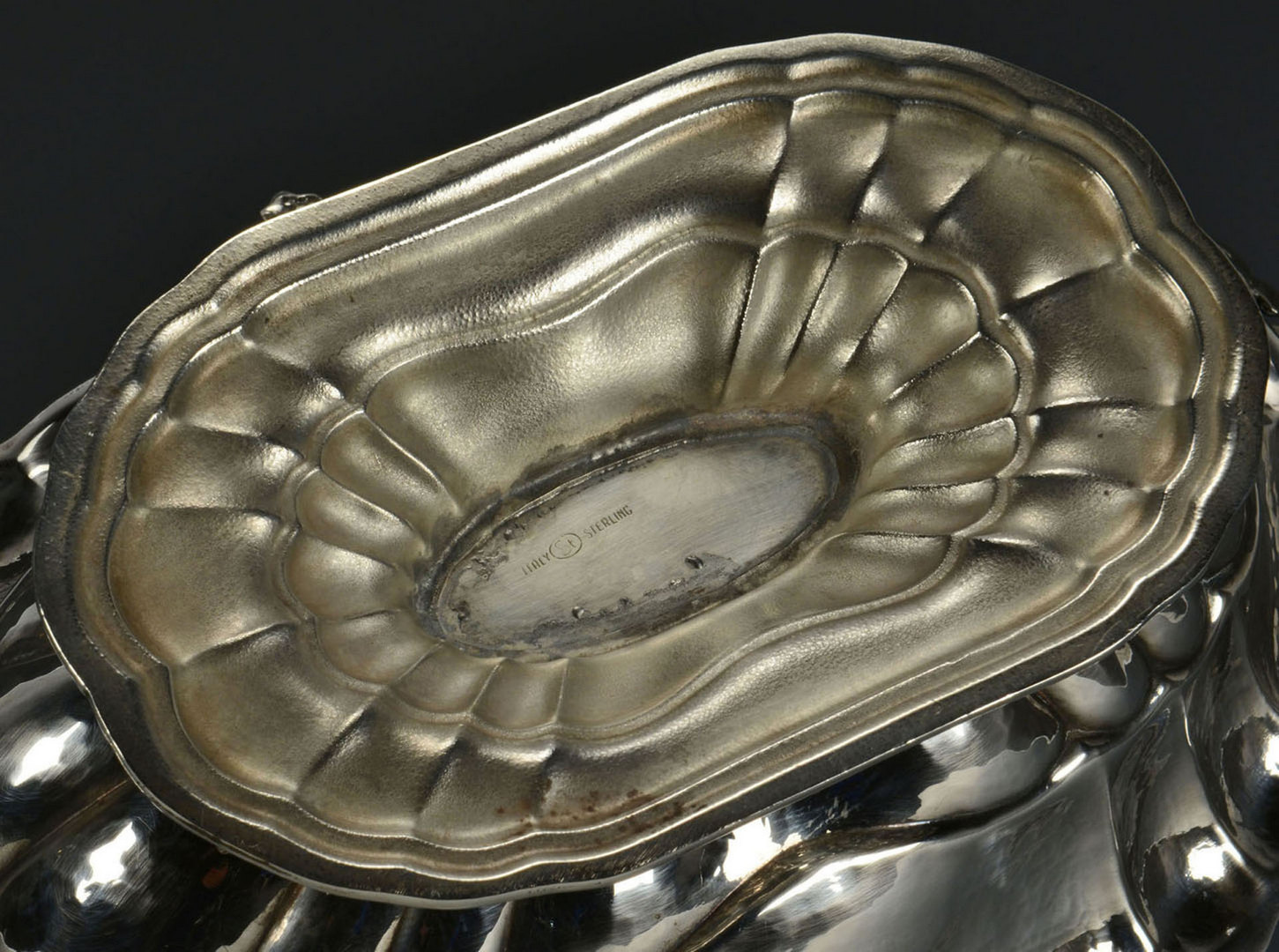 Lot 475: Italian Silver Sterling Compote