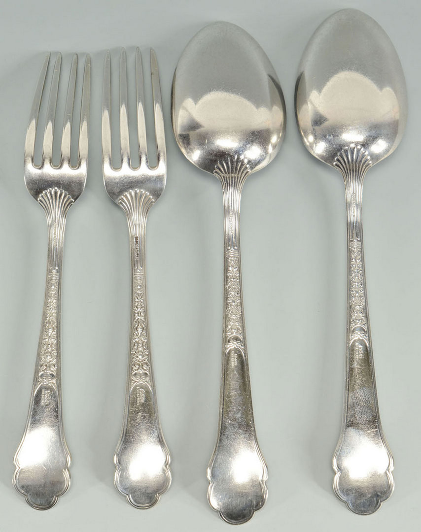 Lot 476: 4 Pieces of Gorham Flatware, Medici Pattern