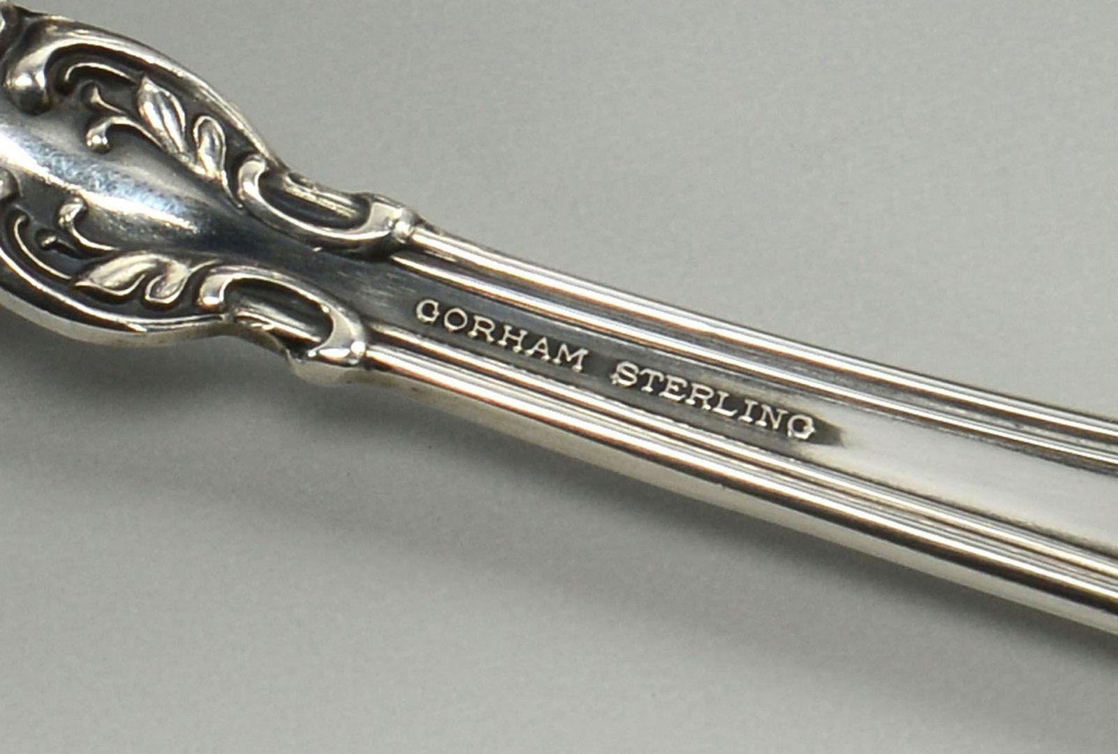 Lot 482: Chantilly Sterling Flatware, 20 pcs.