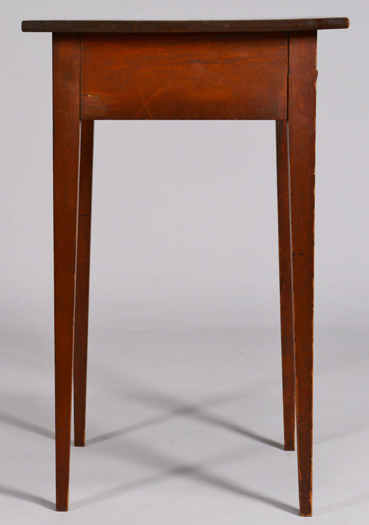 Lot 49: Federal One Drawer Stand, original surface