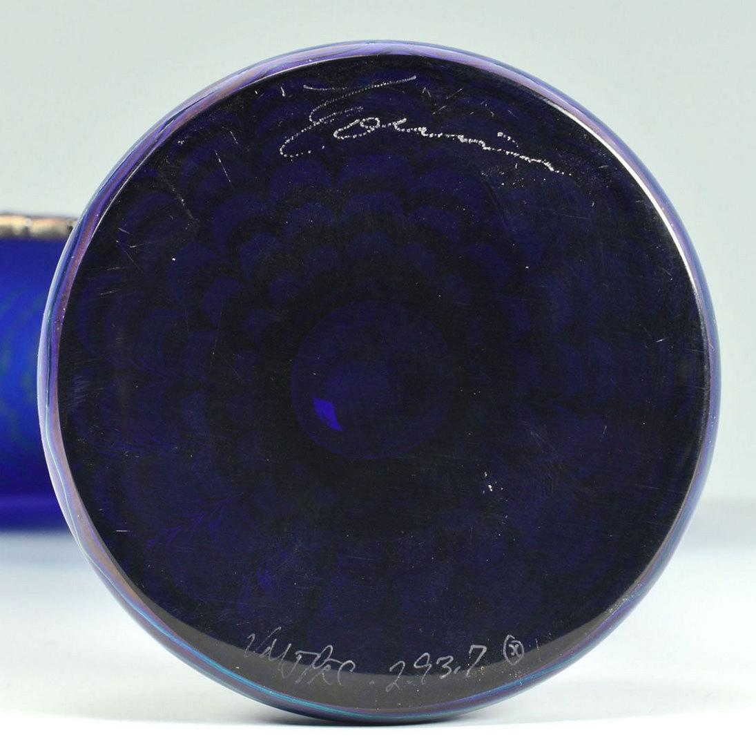 Lot 504: Correia Signed Art Glass, 5 pieces inc. goblet