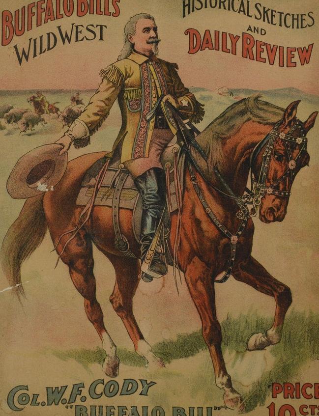 Lot 546: Buffalo Bill Wild West Program, KY, 1907