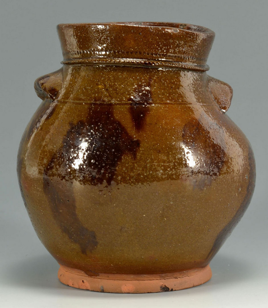 Lot 556: New England Redware Jar