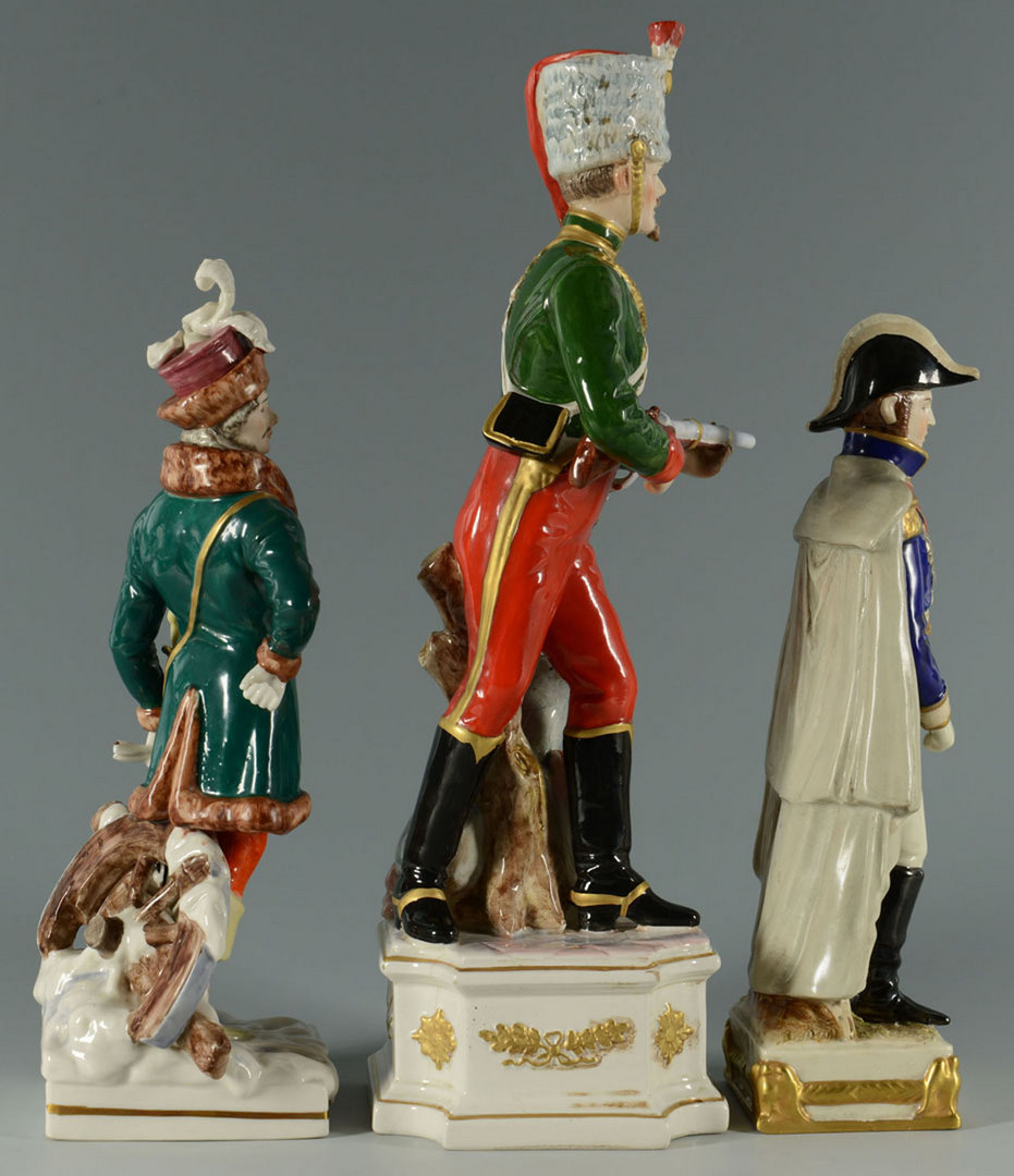 Lot 560: Group of 3 European Porcelain Figures