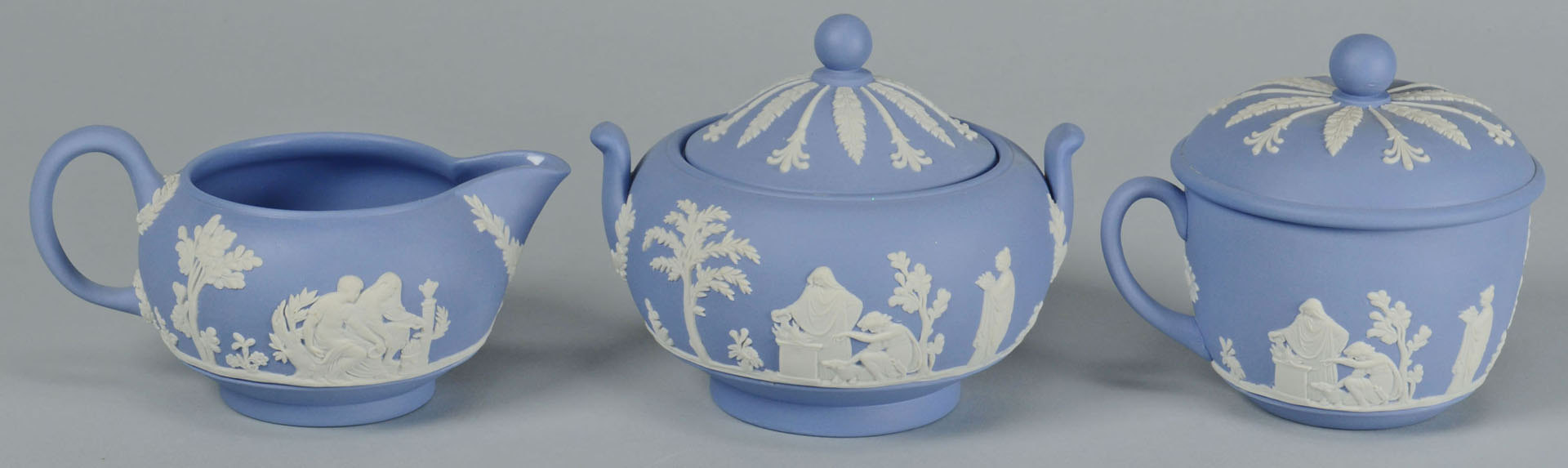 Lot 567: Group of Wedgwood England Jasperware, 44 pcs