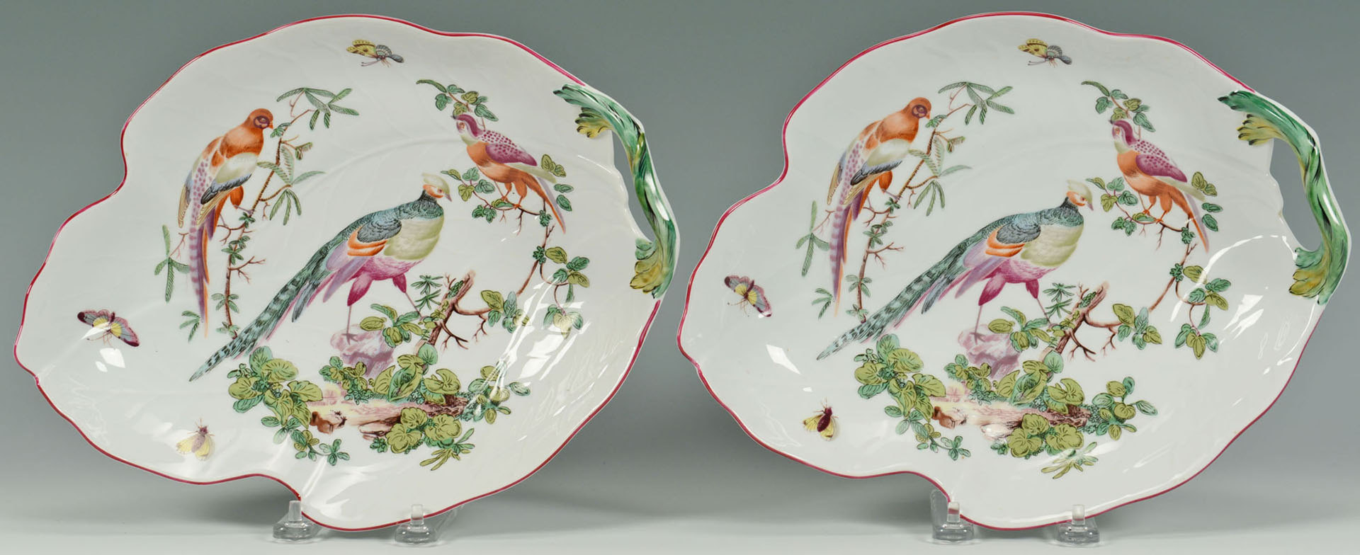 Lot 578: Williamsburg Mottahedeh Porcelain Set, 6 pcs