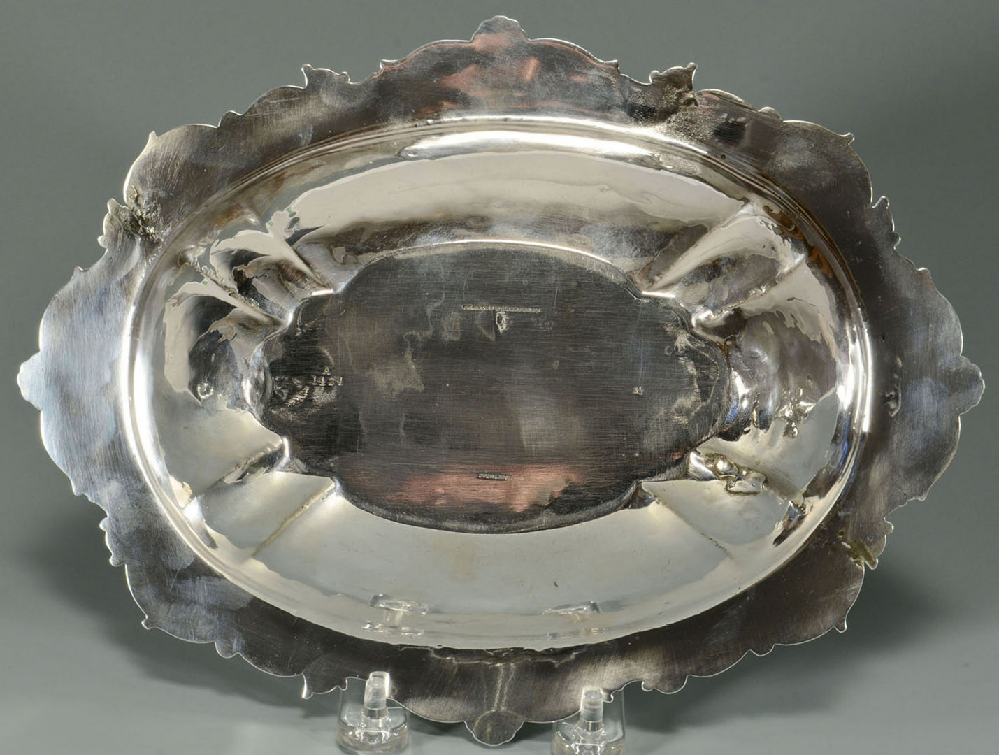 Lot 591: Sterling Veg. Bowl and Gravy Boat w/ Tray