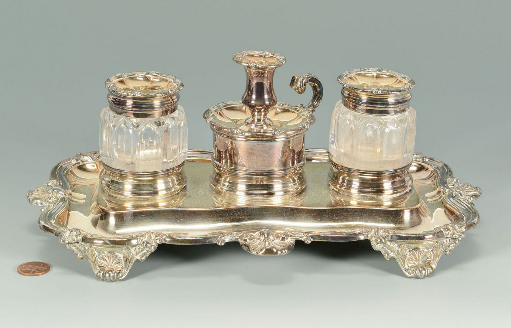 Lot 596: Old Sheffield Standish, Matthew Boulton