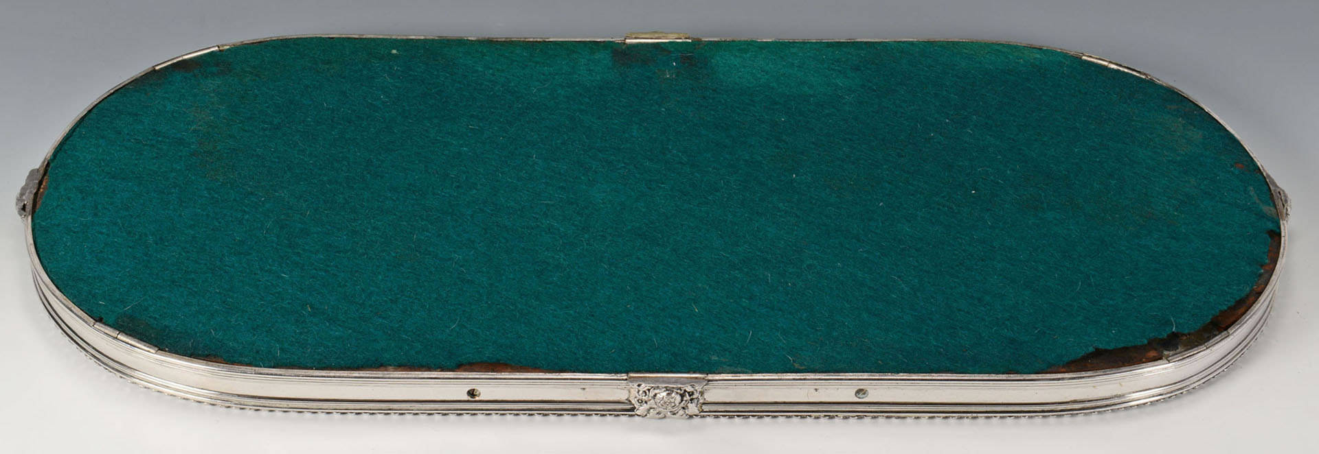 Lot 599: Large Victorian Mirrored Plateau