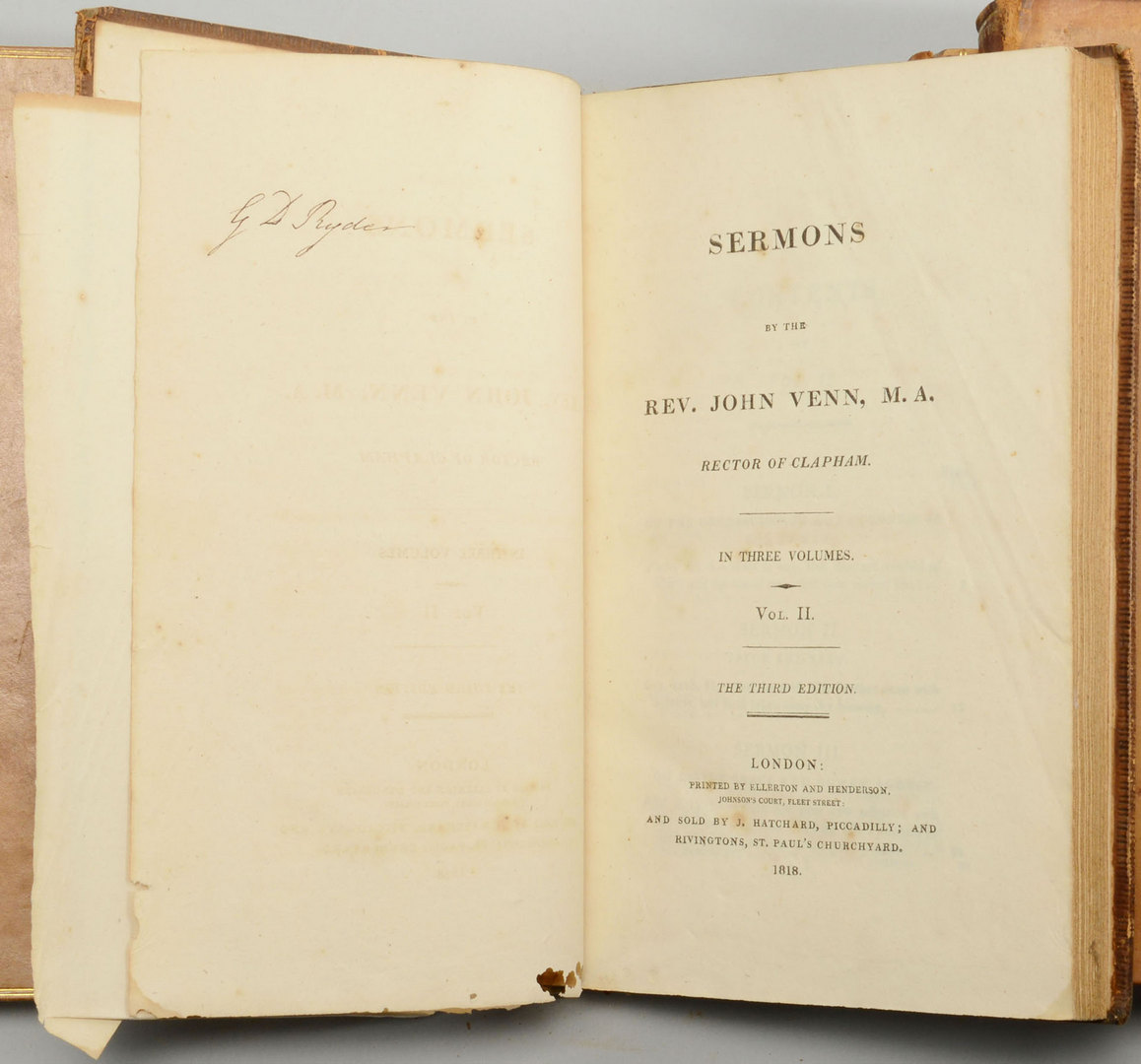 Lot 608: 4 Antique Books on Religion
