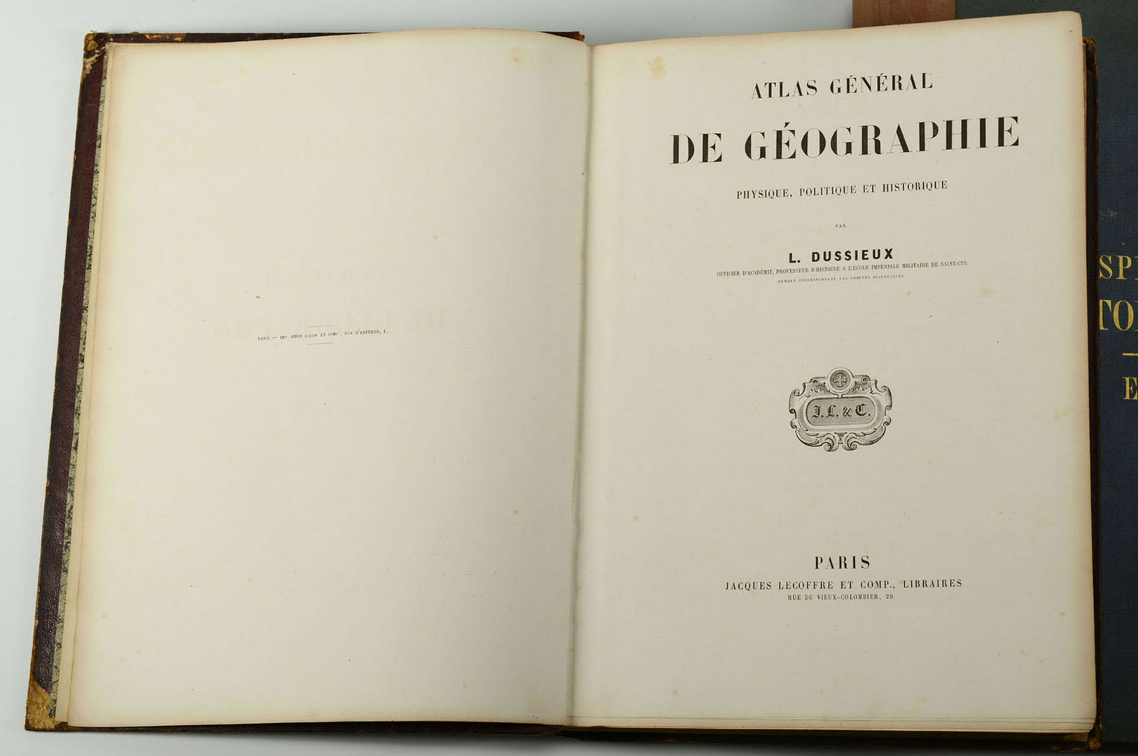 Lot 610: Spruner and Lecoffre 19th c. European Atlases